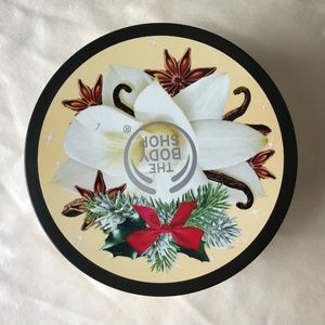 The body shop vanilla chai nourishing body butter